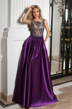 OKSANA MUKHA - spoločenské šaty model 16-1047
