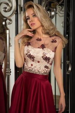 OKSANA MUKHA - spoločenské šaty model 16-1053