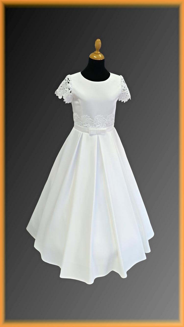 f939f63058ea ... šaty na 1. sväté prijímanie nepredávame. model LAYLA veľkosť 146